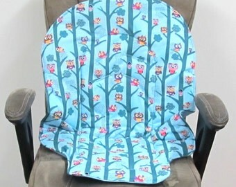 Graco Duo Diner high chair pad, baby accessory duodiner replacement pad, kids chair cushion, kids and baby, baby feeding chair, owl tree