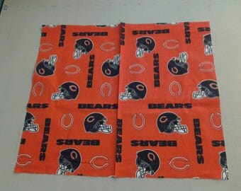 cotton fabric of the Chicago Bears 247509