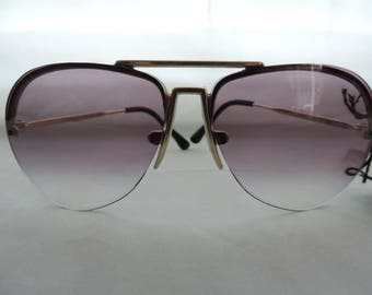 vintage aviator sunglasses 70s Foster Grant sunglasses hipster sunglasses retro eyewear new old stock