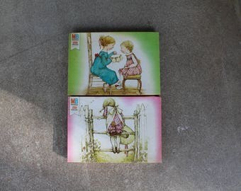 Vintage Holly Hobbie Puzzle 250 Pieces Girls Prairie Complete