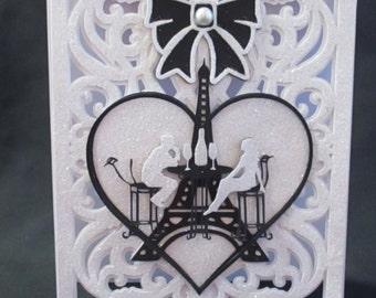 TF003 Valentine Layered Card, SVG,MTC,SCAL,Cricut,Silhouette Cameo,ScanNCut