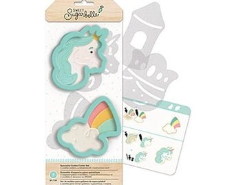 Sweet Sugarbelle Cookie Cutter Kit, Enchanted Cookie Cutters, Unicorn Cookie Cutter, Rainbow Cookie Cutter, Unicorn Biscuit Cutter