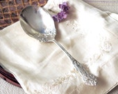1909 LILYTA Serving Spoon Silverplate Flatware