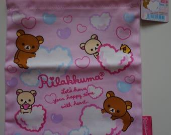 San-X Rilakkuma Drawstring Bag