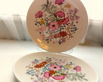 Wedgwood Meadow Sweet Set of 3 Salad Plates