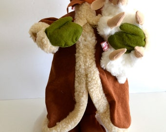 "Annalee 18"" Old World Mrs Santa Claus & Lamb with original Price and Hang Tags"