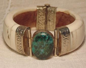 Vintage Eilat Bone Bracelet