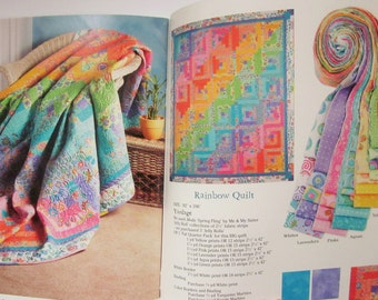 STRIP HAPPY, Quilting on a Roll by Donna Kinsey