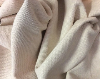 SOFT CREAMY White Woven Cotton Upholstery Fabric, 02-57-02-0613