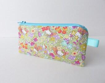 Limited Edition Liberty Lawn Hello Kitty Tiny long purse