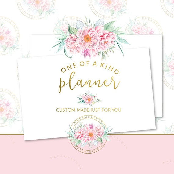 Custom-One Of A Kind Busines Planner | Business Branding | Business Package | Etsy Shop | Small Business | Etsy Graphics | Etsy Designs