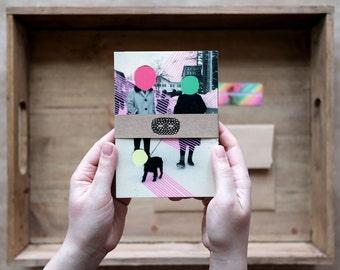 Postcard Box Set, Original Art Gift Ideas, Vintage Collage Art Print On Postcards, Surreal Fine Art Prints