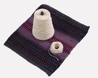 Warping Thread 100% Cotton Warp Twine 1 Pound Cone 442 Yards Super Quick Ship!