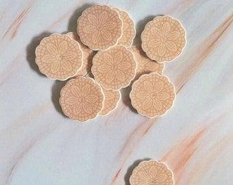 Italian Pizzelle Brooch/ Pin