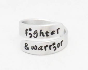 Fighter and warrior ring