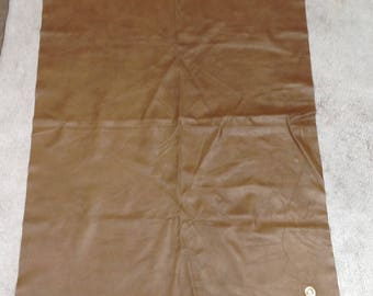 SW635.  Dark Carmel Brown Leather Cowhide Partial