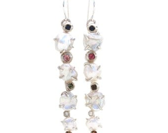 Color Splash Vine Earrings