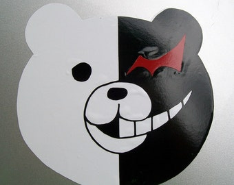 DR Monokuma Monobear full color vinyl car decal