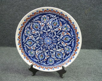 "12-5/8"" dia. Plate or Platter made in Turkey"