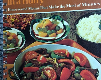 Betty Crocker Family Dinners Recipe Scrapbook