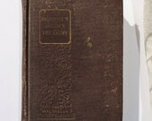 Antique 1924 The Golden Treasury Book - Francis Palgrave, The Macmillan Co., Antique Books, Poems, Songs, Decorative Books, Photo Props