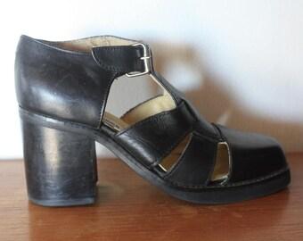 90s Steve Madden Chunky Sandals 5.5