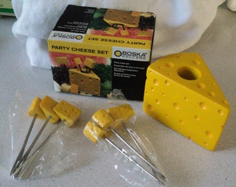 Boska Holland Party Cheese Set with 6 Cheese Picks