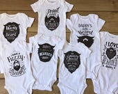 Beard Baby Bodysuit Choose from 7 different designs