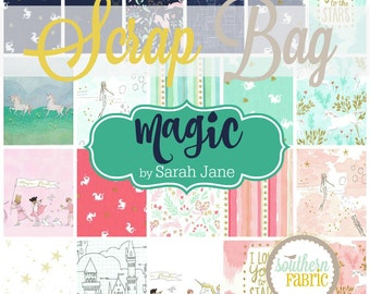 Magic - Scrap Bag Quilt Fabric Strips by Sarah Jane for Michael Miller Fabrics