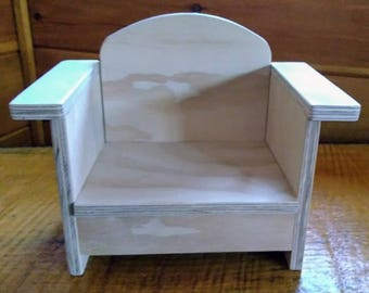 Handmade Chair for 18 inch Doll