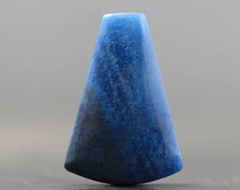 Blue Paraíba Quartz Cabochon, Natural Gem from Brazil, Brazilian Gemstones Paraiba Quartz Blue Stone (20690)