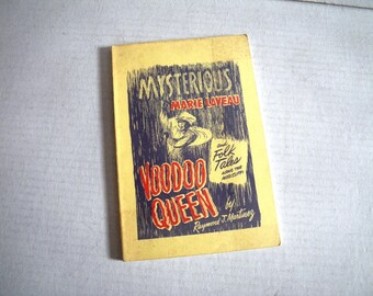Mysterious Marie Laveau Voodoo Queen Book Mississippi Folk Tales New Orleans by Raymond J Martinez
