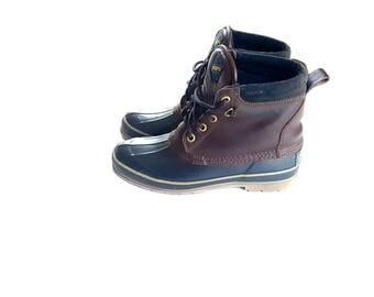 Vintage Sporto rain boots// 1990s women's fashion// size 6 womens boots