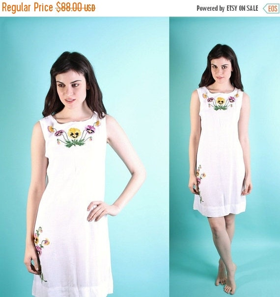 Final SALE 85% Off - Wedding Dress / Vintage Wedding Dress / Dress / Short Wedding Dress / Mexican / Ethnic / Cotton /  Boho / Plus Size / 0