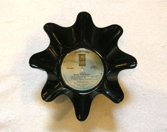 The Eagles Band Record Bowl Made From Vinyl Album - Don Henley