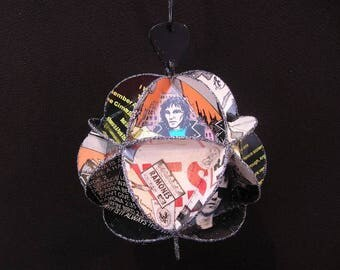 Ramones Album Cover Ornament Made Of Record Jackets - Recycled Music Punk Rock