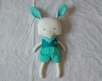 SALE*** Bunny Plushie Softy Softie white rabbit mister rabbit bunny plush