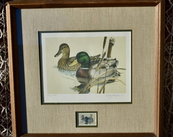 1981 1st Edition Texas Duck Stamp Print