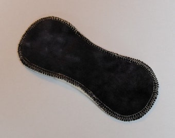 """ONE 7inch TinyReusable Cloth Liner - """"black beauty"""""""