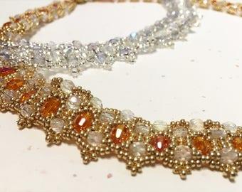 Beaded Crystal Collar