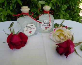 Rose Water, 19th century cologne, large bottle