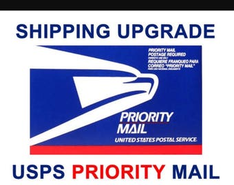 Priority Mail Upgrade for First Class Packages