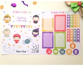 SALE Set of two sheets - Happy planner weekly decorative matte paper planner stickers - functional and perfect for a