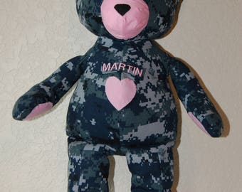 Navy Deployment Teddy Bear