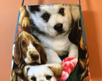 Sam #02, Dog Tote, Cross Body Tote, Knitting Bag, School Bag, Large Tote, Fleece Tote, Shoulder Bag, Purse, Dog Bag, Overnight Bag, Totes