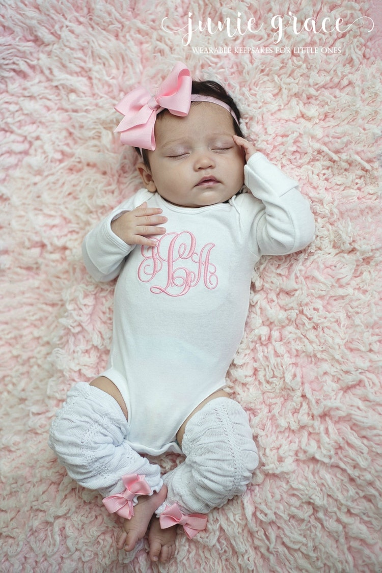 Baby Girl Clothes Baby Girl Coming Home Outfit Baby by ...