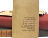 Isn't It Splendid - Glad to Be Alive Kraft Paper Notebook / Journal / Sketchpad