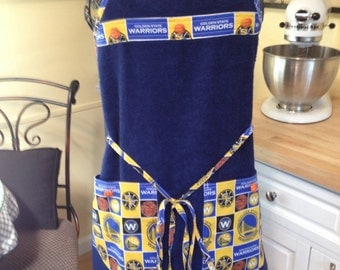 Warriors Terry Cloth Chef Style Apron