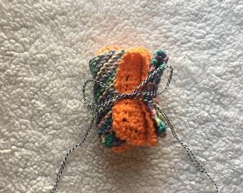 Hand knit dishcloths, knit washcloths, cotton dishcloths, kitchen decor