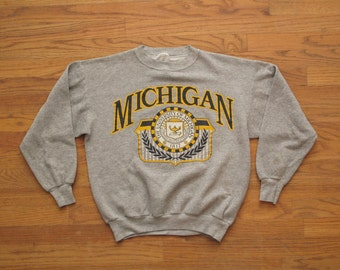 vintage University of Michigan sweatshirt